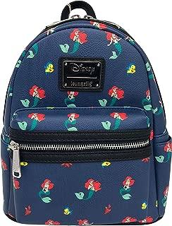 Loungefly - Disney The Little Mermaid ~ Ariel Flounder Sebastian Mini Backpack Bag