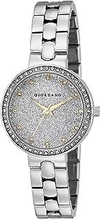 Giordano Analog Silver Dial Women's Watch - A2068-11