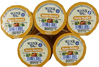 Ken's Steakhouse Honey Mustard Dressing 1.5 oz Dip Cups (Pack of 25)