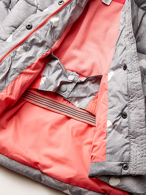 Essentials Girls Heavy-Weight Hooded Puffer Jackets