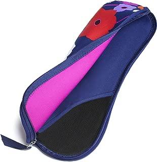 Built NY Bryant Park Designer Neoprene Cosmetics Cases Flat Iron/Curling Iron Case, Lush Flower