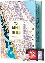 T2 Tea World of Tea: Tea Bags Advent Calendar for Christmas 2020, Countdown to Christmas, 24 Sachets, 54 g (T145AK610)