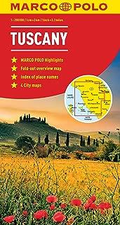 Tuscany Marco Polo Map (Marco Polo Maps)