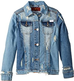 Cropped Denim Jacket (Big Kids)