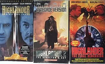Highlander Boxed Set (VHS)