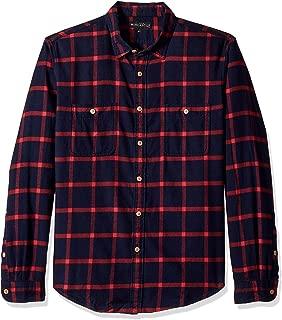 J.Crew Mercantile Men's Slim-fit Long-Sleeve Flannel Plaid Shirt