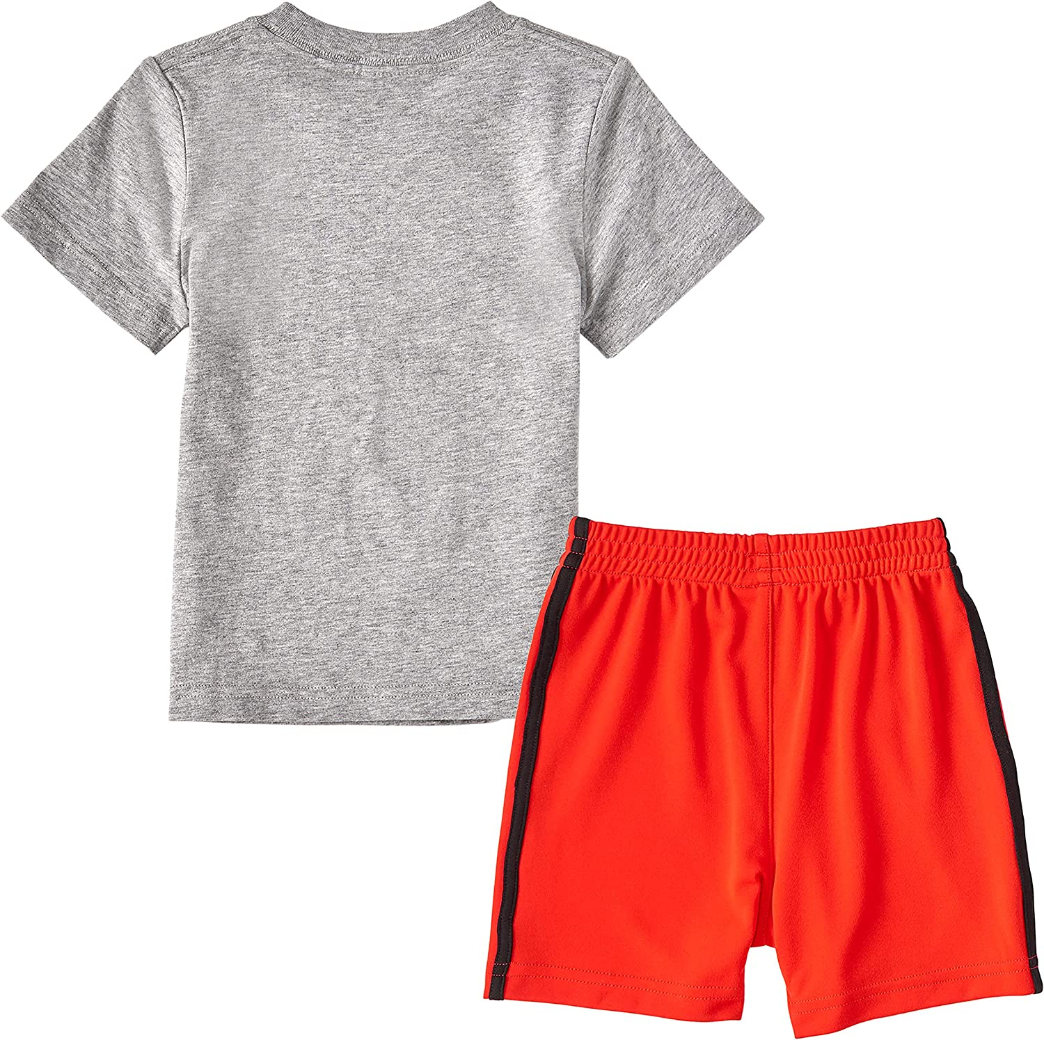 adidas Genuine Free Shipping Baby Boys Sleeve Cotton Tee Graphic Interlock Complete Free Shipping Shorts and