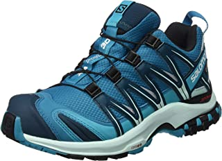 (10.5 UK, Blue (Tahitian Tide/Eggshell Blue/Reflecting Pond)) - Salomon Women's XA Pro 3D GTX Trail Running Shoes, Synthetic/Textile