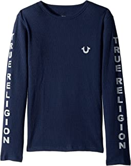 True Religion Kids - Graphic Long Sleeve Tee (Big Kids)