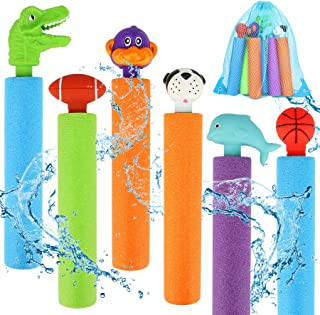 Water Blaster Pool Toys, Foam Water Guns for Kids and Adults, Summer Water Blaster Toy for Swimming Pools Party Outdoor Be...