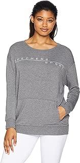 Women's Basic Crewneck Fleece Pullover Sweatshirt