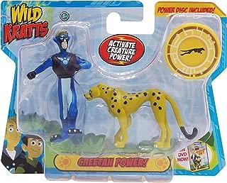 Wild Kratts Toys - 2 Pack Creature Power Action Figure Set - Cheetah Power