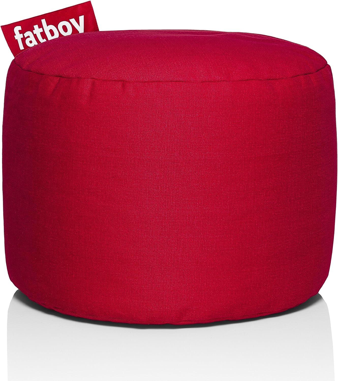 Fatboy PNTSTW-RED Point Stonewashed Bean Bag, Red