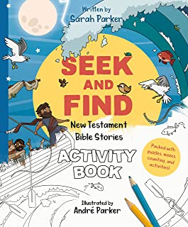 Seek and Find New Testament Activity Book: Learn All About Jesus!