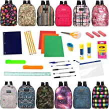 backpack school supplies