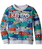 Kenzo Kids - Logo Eye Sweatshirt (Big Kids)