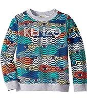 Kenzo Kids - Logo Eye Sweatshirt (Big Kids)