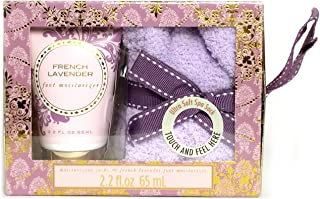 Cozy Sock and Lotion Gift Box Sets (French Lavender)