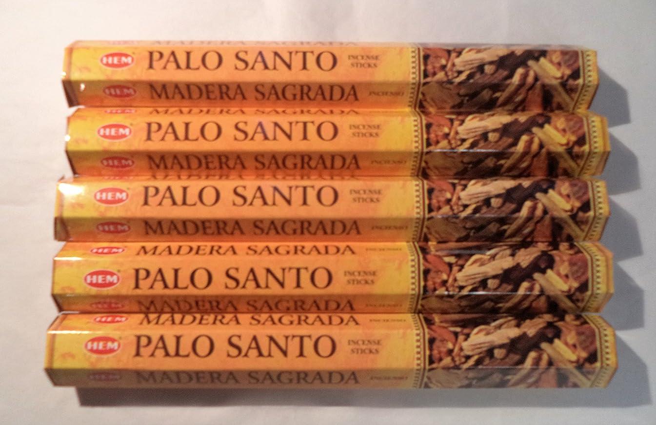 侵略弱いさようならHEM お香 パロサント 聖なる木100本入り 20本入りx5箱
