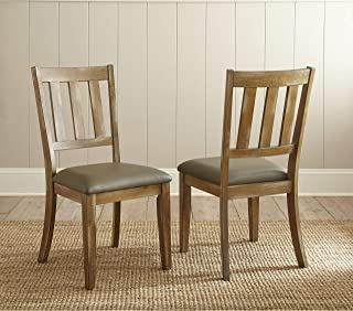 Greyson Living Avondale Faux Leather Dining Chair (Set of 2) by - 37 inches high x 18 inches Wide x 22 inches deep