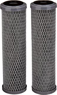 AmazonBasics AMZN-SCWH-5 Standard Duty Water 15,000 Gallons, Equivalent to Culligan SCWH-5 Whole House Replacement Filter, White, 2-Pack