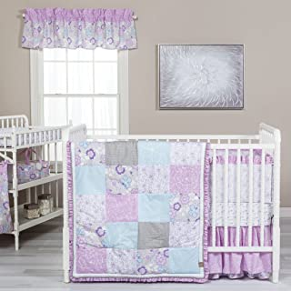 lavender paisley baby bedding