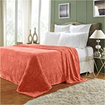 Super Soft Warm Solid Plush Coral Blanket Travel Throw Rug Sofa Bedding 70×100cm