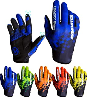 Cycling Gloves,Full Finger Biking Glove MTB DH Road Mountain Bicycle Motorcycle Anti-Slip Shock-Absorbing Touch Screen for...
