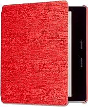 【 Kindle Oasis (第9世代、第10世代)用】 Amazon純正 ファブリックカバー パンチレッド
