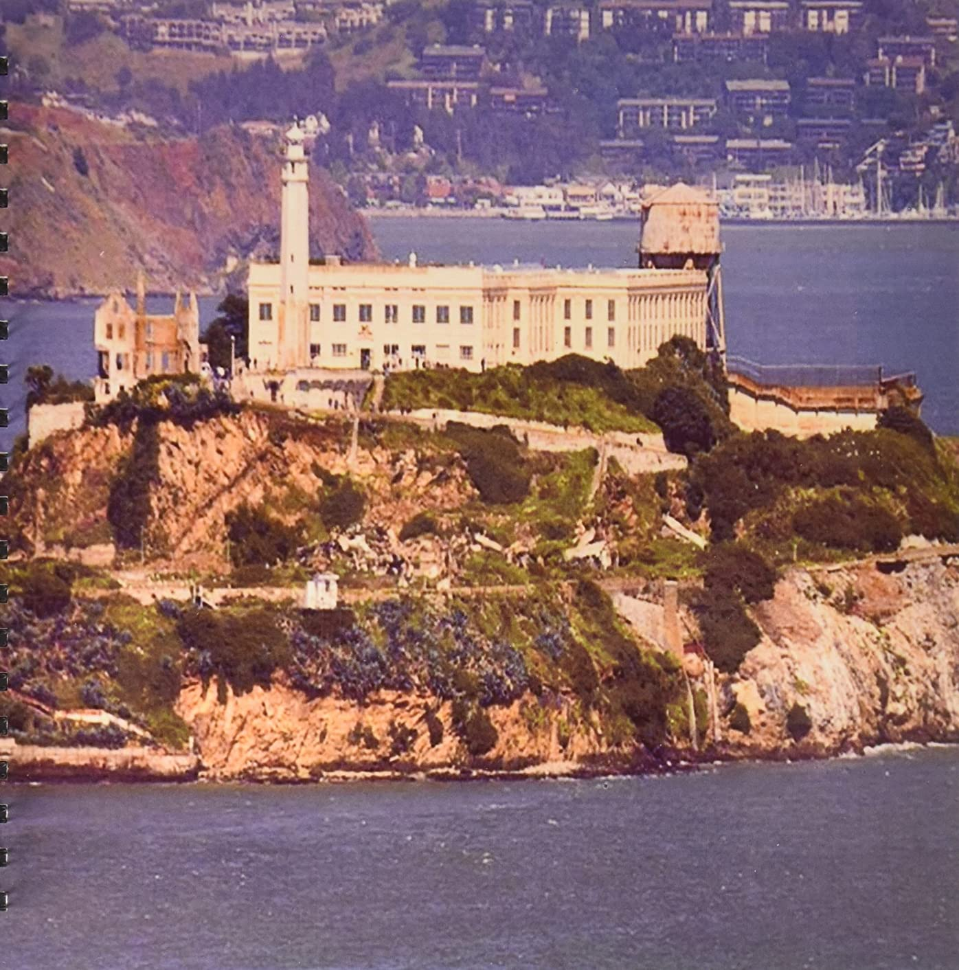 3dRose db_47835_2 View of Alcatraz Memory Book, 12 by 12-Inch