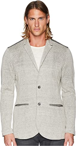 Plated Crinkled Blazer Y2452U2