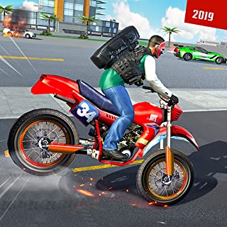 Real Gangster Chase Moto Bike 2019