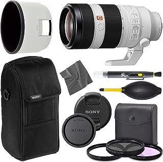 Sony FE 100-400mm f/4.5-5.6 GM OSS Lens (SEL100400GM) + AOM Pro Starter Bundle Combo Kit - 100 to 400 Full Frame Super Telephoto Lens for Sony E-Mount - International Version (1 Year AOM Warranty)