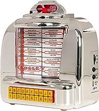 Crosley CR1120A-SI Diner Jukebox Bluetooth Tabletop FM Radio
