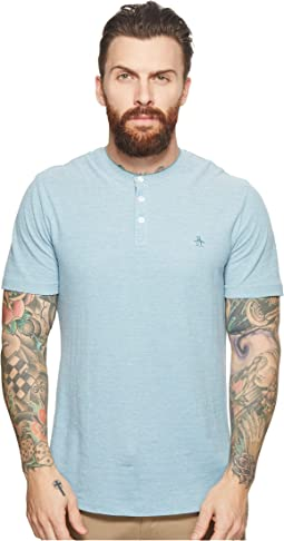 Original Penguin - Short Sleeve Henley