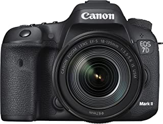 Canon デジタル一眼レフカメラ EOS 7D MarkII レンズキット EF-S18-135mmF3.5-5.6 ISUSM Wi-FiアダプターW-E1付属 EOS7DMK2LKW-E1