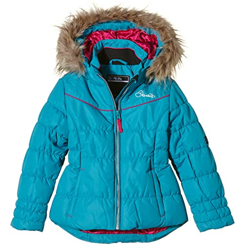 Dare 2b Girl s Emulate Ski Jacket-Black 1a8bdc07d