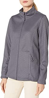 Charles River Apparel Women's Heritage Rib Knit Full Zip Jacket
