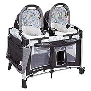 Baby Trend Go Lite Twins Nursery Center, Drip Drop Blue