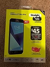 Straight Talk Samsung Galaxy J7 Sky Pro 16GB Prepaid Smartphone, Black (Locked)