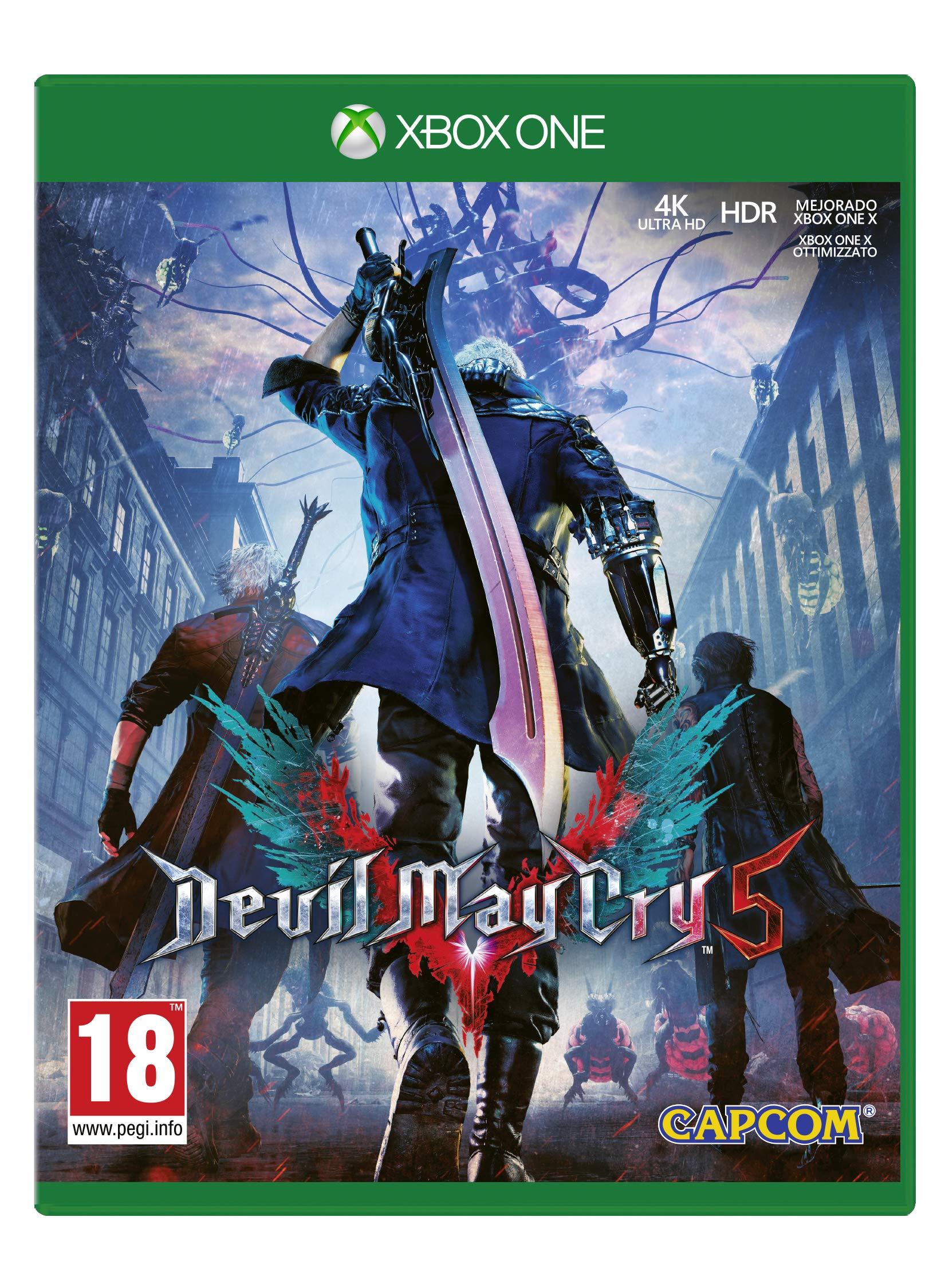 Devil May Cry 5 Lenticular Edition (Edición Exclusiva Amazon ...