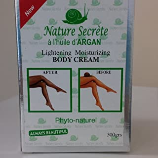 Nature Secrète Lightening Moisturizing Body Cream