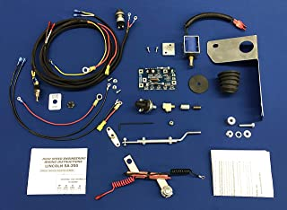 100% USA Low Idle Upgrade Kit Fits Lincoln SA 200 250 Gas W/OEM Sol Reed & Oil Switch