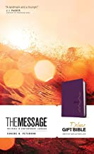 The Message Deluxe Gift Bible (Leather-Look, Amethyst Gem): The Bible in Contemporary Language