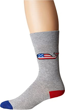 American Flag Wf Icon Socks