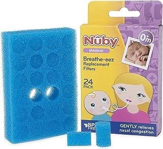 Nuby Breathe-EEZ Filters, 24 Pack