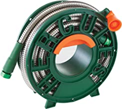 Pocket Hose Hercules Hose Stainless Steel Garden Hose by BulbHead, the Heavy Duty, Flexible, Kink Free, Tangle Free Hose (50 Feet)