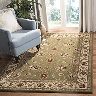 Safavieh Lyndhurst Collection LNH553-5212 Traditional Floral Green and Ivory Area Rug (4' x 6')