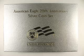 2006 W & P American Eagle 20th Anniversary Uncirculated, Proof & Reverse Proof