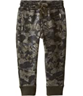 Dolce & Gabbana Kids - Camo Print Sweatpants (Toddler/Little Kids)